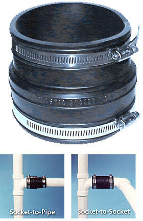 Plastic Socket Couplings Fernco Canada