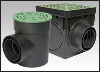 Stormdrain plus water management systems fernco canada for French drain collection box