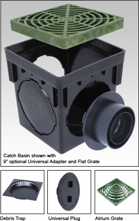 Catch Basins Square 9 Quot Amp 10 Quot Stormdrain Plus Fernco