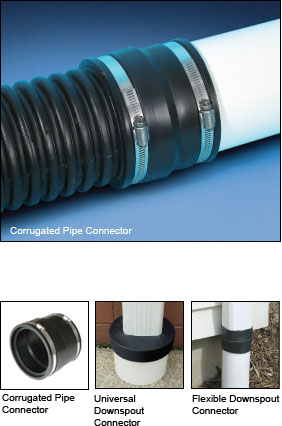 Corrugated Pipe Connector