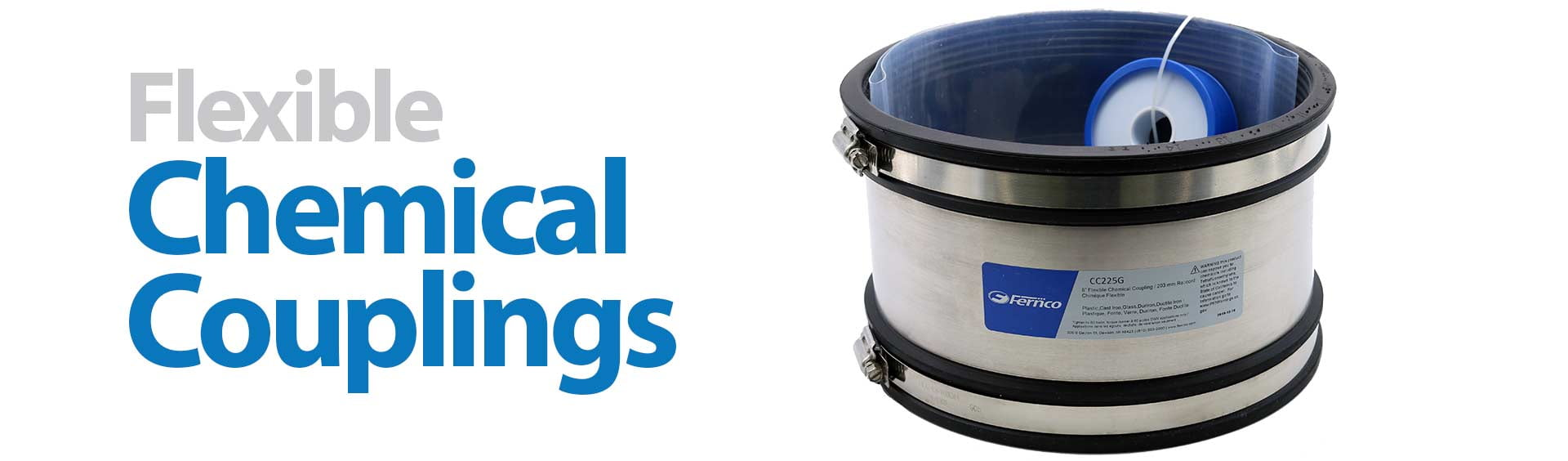 Fernco Flexible Chemical Couplings