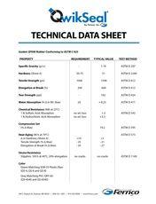 QwikSeal Technical Data Sheet 2021